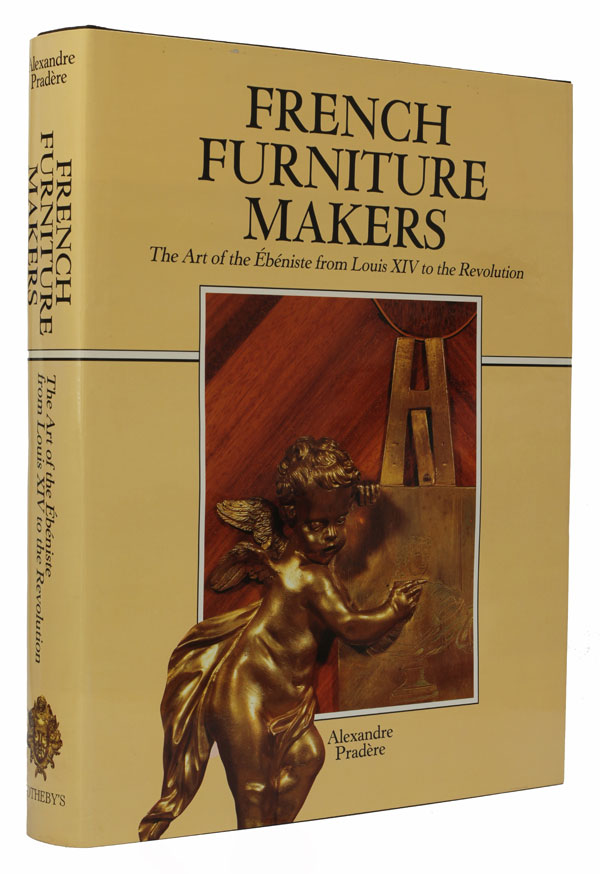 French Furniture Makers. Alexandre Pradere.