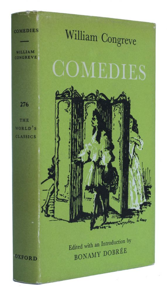 Comedies. William Congreve.