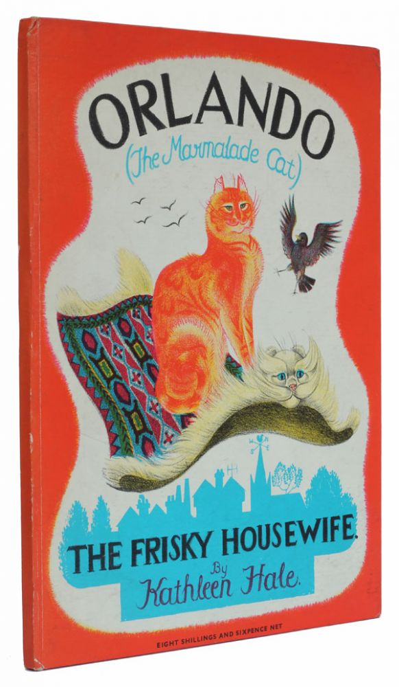 Orlando the Marmalade Cat - The Frisky Housewife. Kathleen Hale.