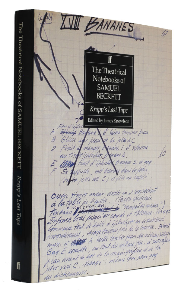 The Theatrical Notebooks of Samuel Beckett Volume III Krapp's Last Tape. Samuel Beckett.