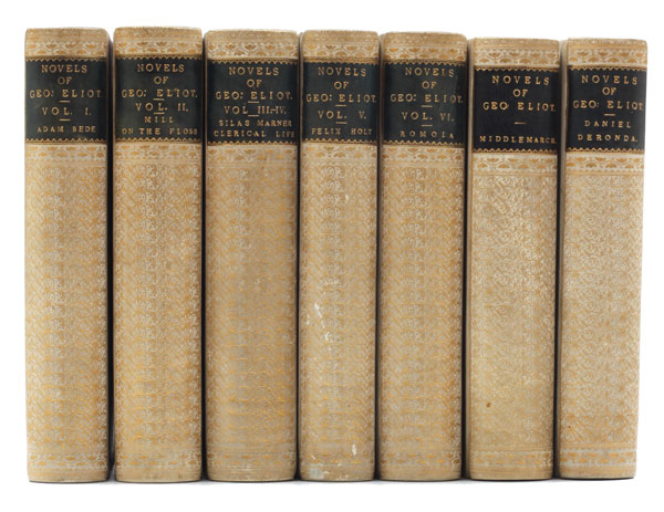 The Novels of George Eliot. George Eliot, Mary Ann Evans.