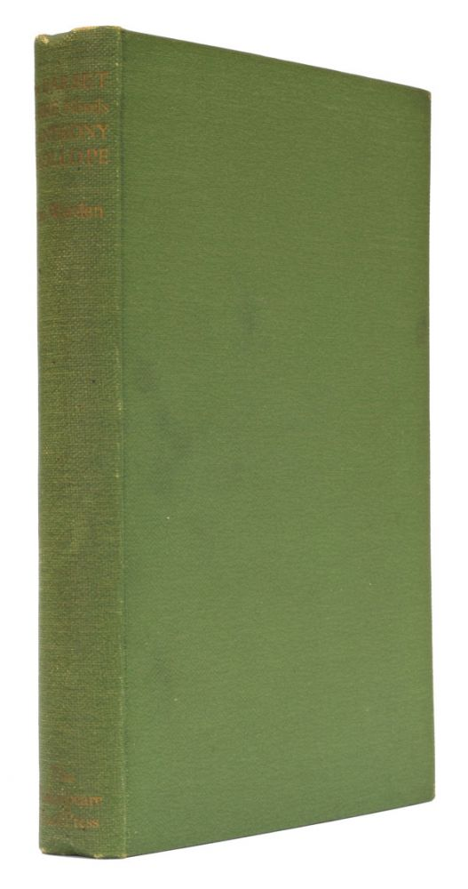 The Shakespeare Head Edition of the Novels of Anthony Trollope. Anthony Trollope.