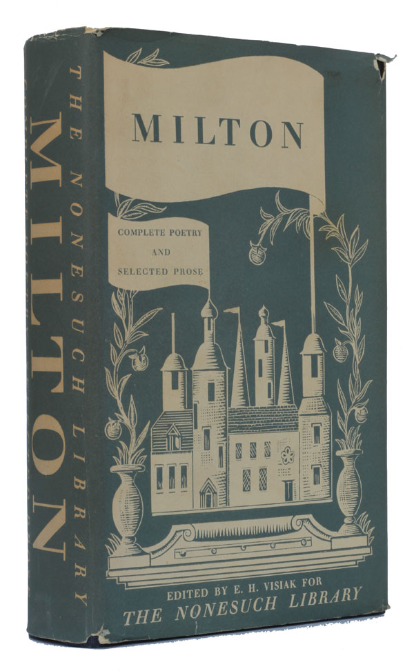 Complete Poetry & Selected Prose (The Nonesuch Press Compendious Series). John Milton.