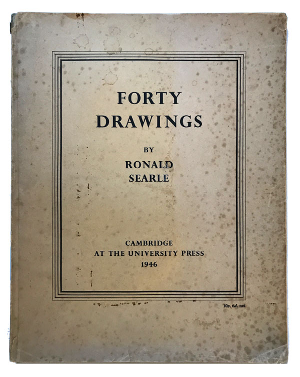 Forty Drawings. Ronald Searle.