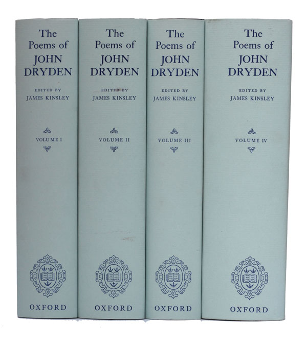 The Poems of John Dryden. John Dryden.