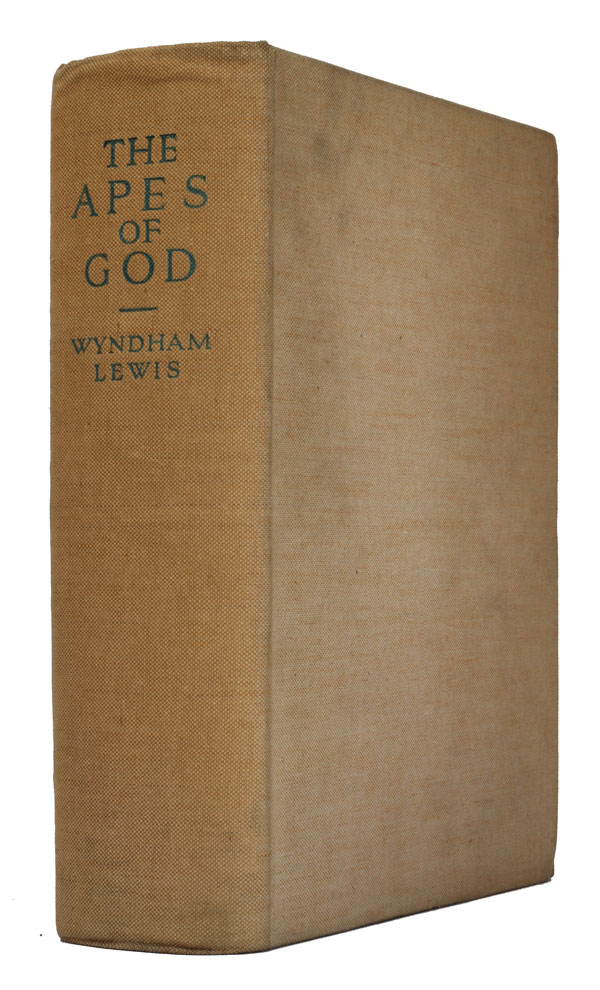 The Apes of God. Wyndham Lewis.