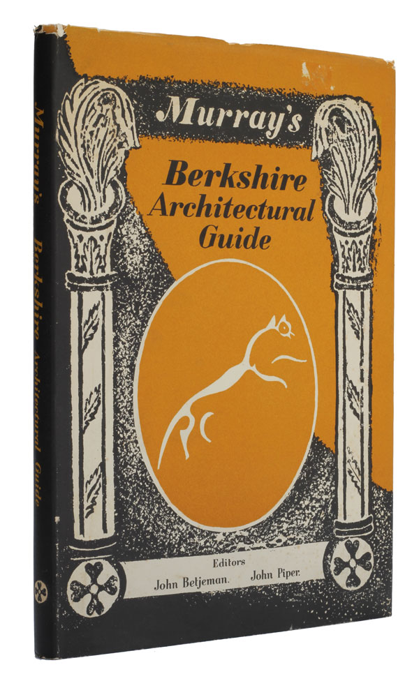 Murray's Berkshire Architectural Guide. John Piper, John Betjeman.