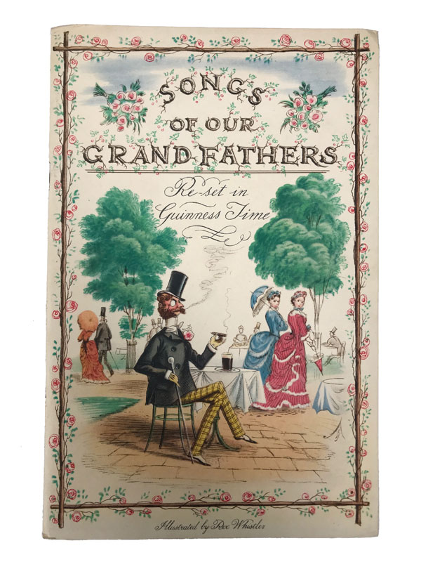 Songs of Our Grandfathers. Ronald Barton, Robert Bevan, Dorothy L. Sayers.