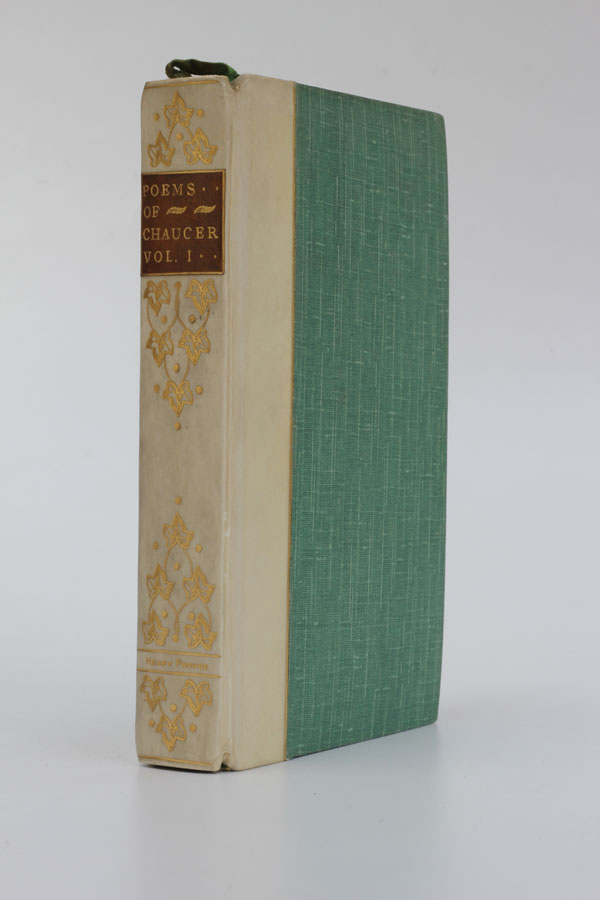 The Poetical Works of Geoffrey Chaucer [Volume I]. Geoffrey Chaucer.