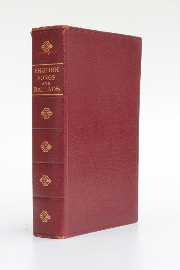 English Songs and Ballads. T. W. H. Crosland.