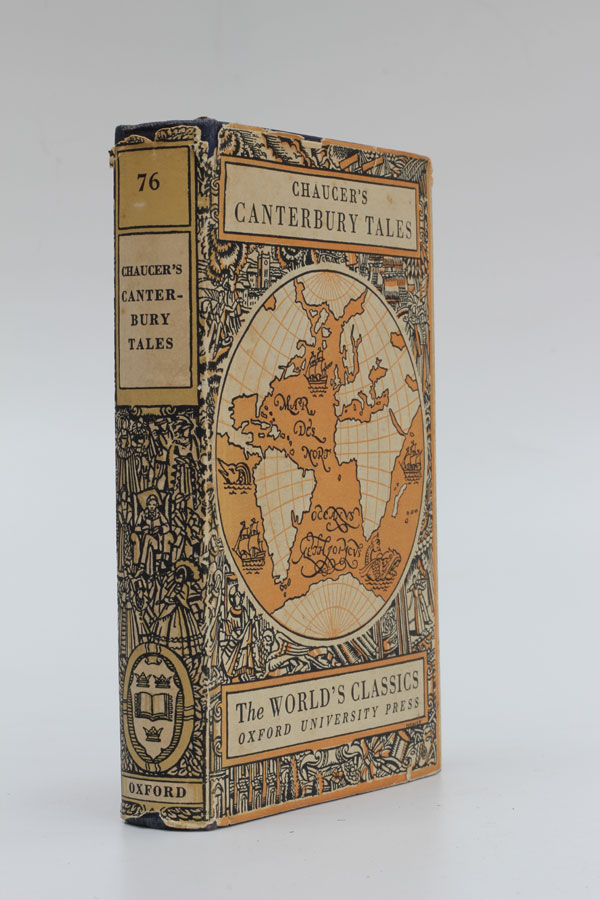 The Poetical Works of Geoffrey Chaucer. Volume III The Canterbury Tales. Geoffrey Chaucer.