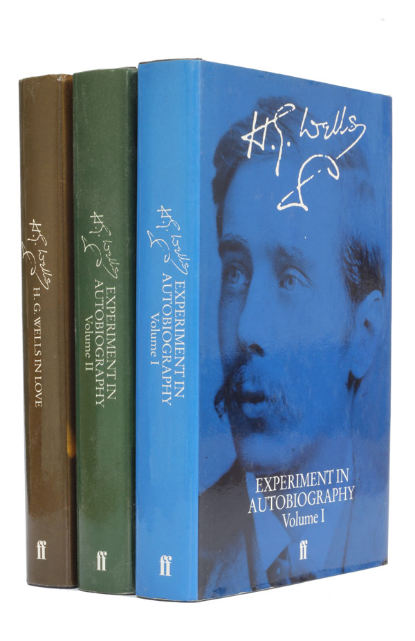 Experiment in Autobiography & H. G. Wells in Love. H. G. Wells.