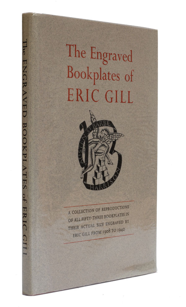 The Engraved Bookplates of Eric Gill 1908-1940. Christopher Skelton.