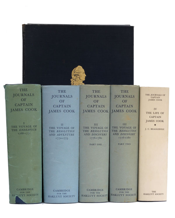 The Journals and Life of Captain James Cook. Captain James Cook, J. C. Beaglehole.