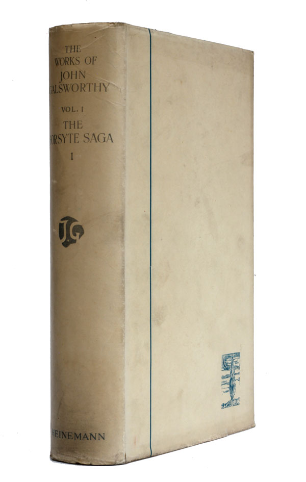 The Manaton Edition of the Works of John Galsworthy. John Galsworthy.