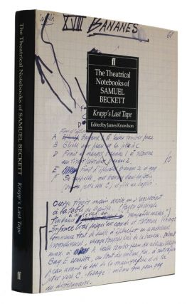 The Theatrical Notebooks of Samuel Beckett Volume III Krapp's Last Tape