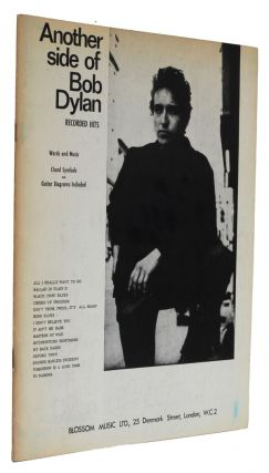 Another Side of Bob Dylan. Bob Dylan