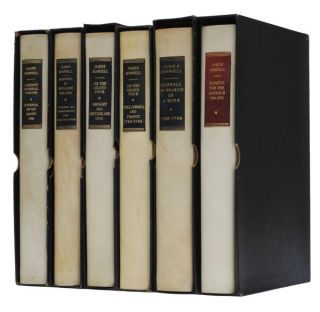The Yale Editions of the Private Papers of James Boswell. James Boswell