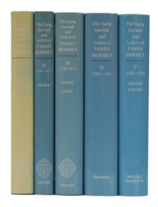 The Early Journals and Letters of Fanny Burney. Fanny Burney
