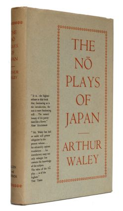 The No Plays of Japan. Arthur Waley