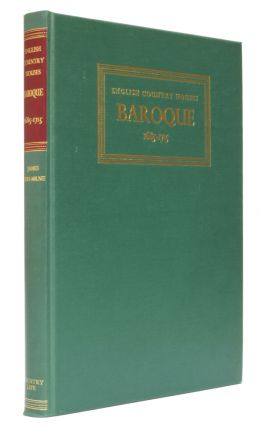 English Country Houses: Baroque 1685-1715. James Lees-Milne