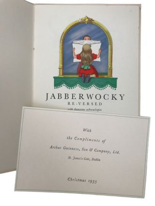 Jabberwocky Re-Versed and other Guinness Versions