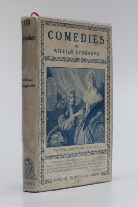 Comedies. William Congreve