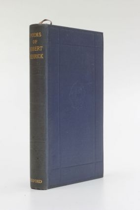 The Poems of Robert Herrick. Robert Herrick