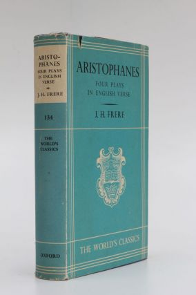 Four Plays. Aristophanes